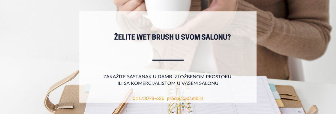 zelite li wet brush u svom salonu baner