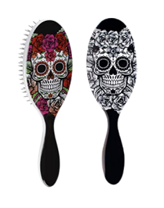 Wet Brush Sugar Skull